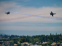 Blue Angel Dogfight